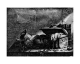 The Travelling Box Giclee Print by Leonard Bramer