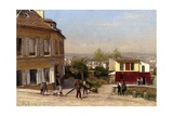 Montmartre, 1875 Giclee Print by Berndt Lindholm