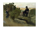 The Stranger, 1890 Giclee Print by Norman Garstin