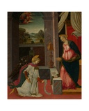 The Annunciation Giclee Print by Michele Ciampanti