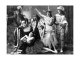 A Scene from the First Performance of Tchaikovsky's Ballet 'The Sleeping Beauty' at the Mariinsky… Photographic Print