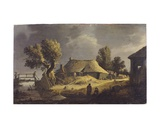 Landscape with a Farmhouse Giclee Print by Peter De Bloot