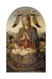 Madonna and Child with Cherubs, C.1485 Giclee Print by Lazzaro Bastiani