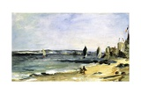 The Sea Shore, Arcachon, 1871 Giclee Print by Édouard Manet