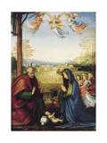 The Nativity Giclée-tryk af Fra Bartolommeo