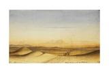 Scene in Desert of Nubia, 1835 Giclee Print by Rupert Kirk