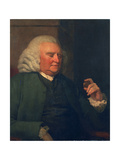 Unknown Man, Called Samuel Johnson Giclee Print by John Opie