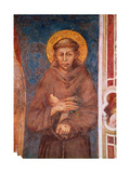 St. Francis (Detail) Giclée-tryk af Cimabue