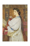 Cassandra Fedele, 1869 Giclee Print by Sir Frederick William Burton