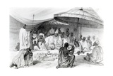 The Attah, from 'Picturesque Views on the River Niger, Sketched During Lander's Last Visit in… Giclee Print by William Allen