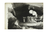 A Foregathering of Witches Giclee Print by George Romney