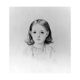Fanny Lynn, 1852 Giclee Print by John Everett Millais