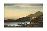 Hanieh Island, Jibul, Red Sea, C.1833 Giclee Print by Rupert Kirk