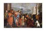 The Centurion of Capernaum, C.1570 Giclée-Druck von Paolo Veronese