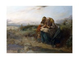 The Waefu' Heart, 1882 Giclee Print by Thomas Faed