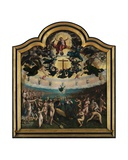 The Last Judgement and the Seven Works of Mercy, Centre Panel Giclee Print by Bernard van Orley
