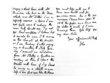 Letter to His Younger Sister, Fanny Keats, Mentioning That He Is Staying as a Guest of Mrs… Giclee Print by John Keats