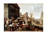 The Seven Corporal Works of Mercy Giclee Print by David Teniers the Younger