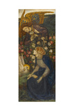 The Annunciation, 1861 Giclee Print by Dante Gabriel Rossetti