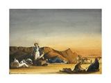Desert Scene, C.1833 Giclee Print by Rupert Kirk