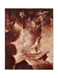 Odysseus Facing the Choice Between Scylla and Charybdis, C.1796 Giclee Print by Henry Fuseli