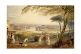 Richmond Terrace, Surrey, Summer, 1836 Giclee Print by J. M. W. Turner