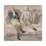 Bourgeois and Desenfans, 1805 Giclee Print by Paul Sandby