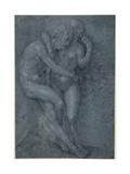 Adam and Eve Giclee Print by Jan Gossaert