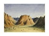 Mount Sinai, 1835 Giclee Print by Rupert Kirk