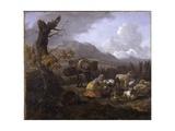 Landscape, C.1649 Giclee Print by Willem Romeyn