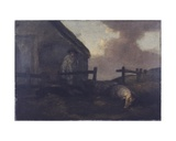 Swineherd Giclee Print by George Morland