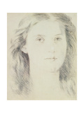 Study for La Marchesa Giclee Print by Sir Frederick William Burton
