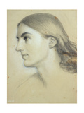 Miss Mary Palliser Giclee Print by Sir Frederick William Burton