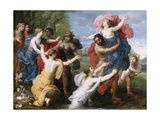 Pluto and Persephone, C.1610 Giclee Print by  Jan Brueghel and Hendrik van Balen