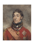 Portrait Miniature of Stapleton Cotton, 1st Viscount Combermere, C.1812 Giclee Print by John Wright