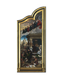 The Last Judgemen and the Seven Acts of Mercy Giclee Print by Bernard van Orley