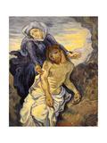 Pieta, C.1890 Giclee Print by Vincent van Gogh