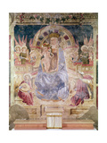 Virgin in Glory Between Angels and Saints, 1468 Giclee Print by Matteo da Gualdo