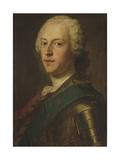 Portrait of Charles Edward Stuart, 'Bonnie Prince Charlie' Giclee Print by Maurice Quentin de La Tour