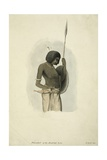 Donakil of the Rookbab Tribe, 1842 Giclee Print by Rupert Kirk