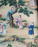 Chinese Silk Wall Decoration Photographic Print