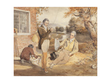 Fishing Giclee Print by John Frederick Lewis