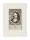Louis Le Clerc, Comte De Bouffon, Engraved by Dupreel Giclee Print by Pierre Maximilian Delafontaine