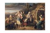 The Fortune Teller, 1851 Giclee Print by John Phillip