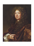 Portrait of a Gentleman in a Brown Robe Giclee Print by Sir Peter Lely