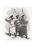 Chinese Archers, 1878 Giclee Print