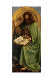 John the Baptist, Detail from the Ghent Altarpiece, 1432 Giclee Print by Hubert & Jan Van Eyck