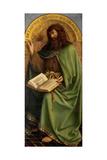 John the Baptist, Detail from the Ghent Altarpiece, 1432 Giclee Print by Hubert & Jan Van Eyck