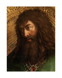 Detail of John the Baptist, from From the Ghent Altarpiece, 1432 Giclee Print by Hubert & Jan Van Eyck