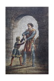 Or Hubert, If You Will, Cut Out My Tongue, So I May Keep Mine Eyes', 1890 Giclee Print